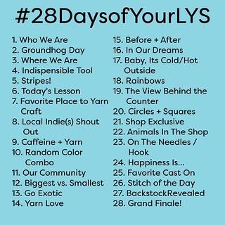 #28daysofyourlys