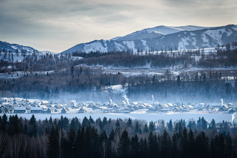 新疆冬季遊