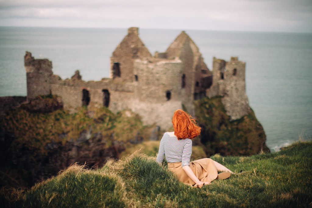 dunluce castle, how to stay in a castle in ireland, visit ireland, castle hotel