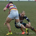 Thomas Bednall with a tackle on James Bailey-1315
