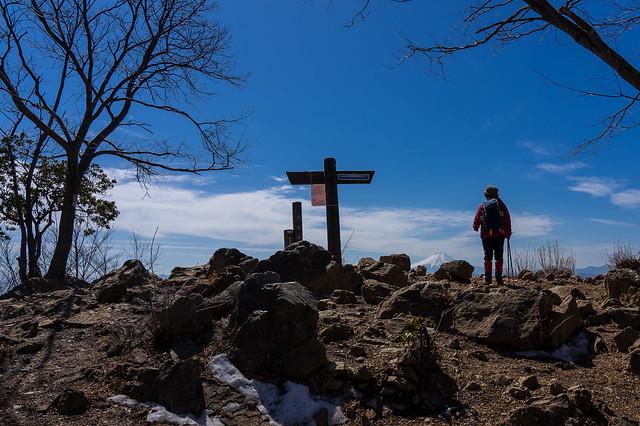 大岳山の頂