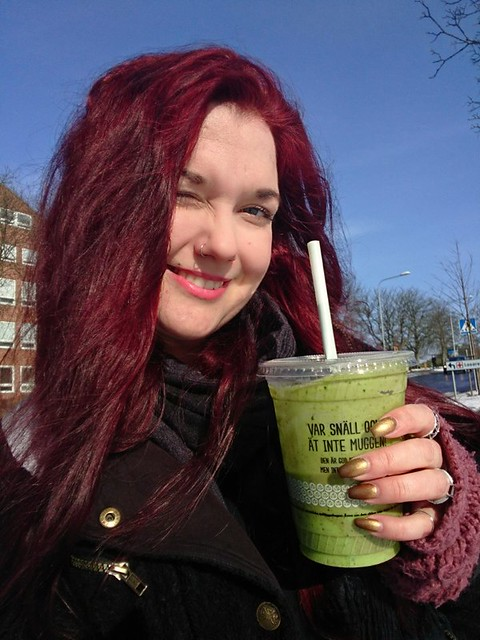 Sunshine, smoothie and spring