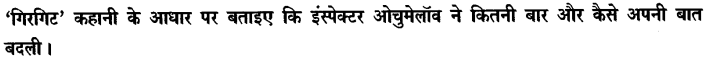 Chapter Wise Important Questions CBSE Class 10 Hindi B - गिरगिट 29