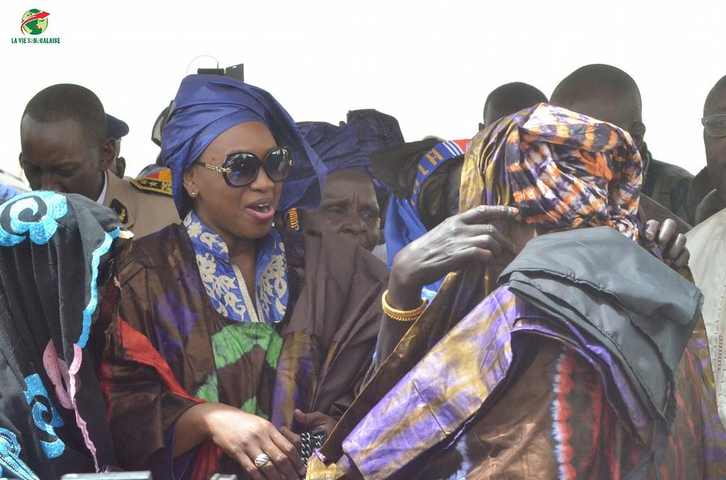 Inauguration d'infrastructures  de base à Mbakhna Par la Fondation SONATEL (96)