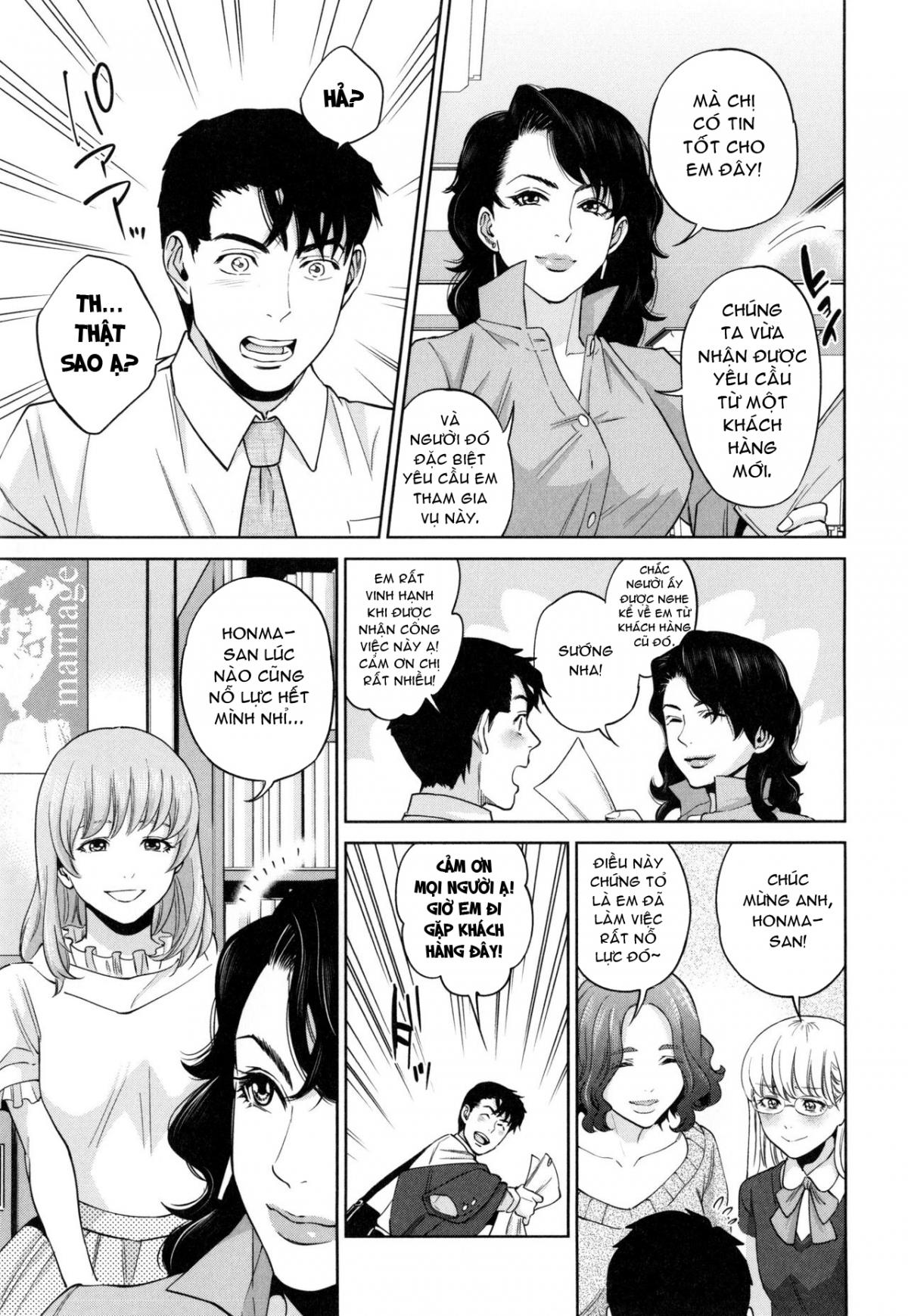 HentaiVN.net - Ảnh 4 - Cuộc Chiến Tình Yêu Nơi Công Sở - Office Love Scramble; オフィスラブ・スクランブル - Chap 6 [Harem End]