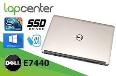 DELL LATITUDE E7440 I5 8 GB RAM 128 GB SSD WIN7PRO