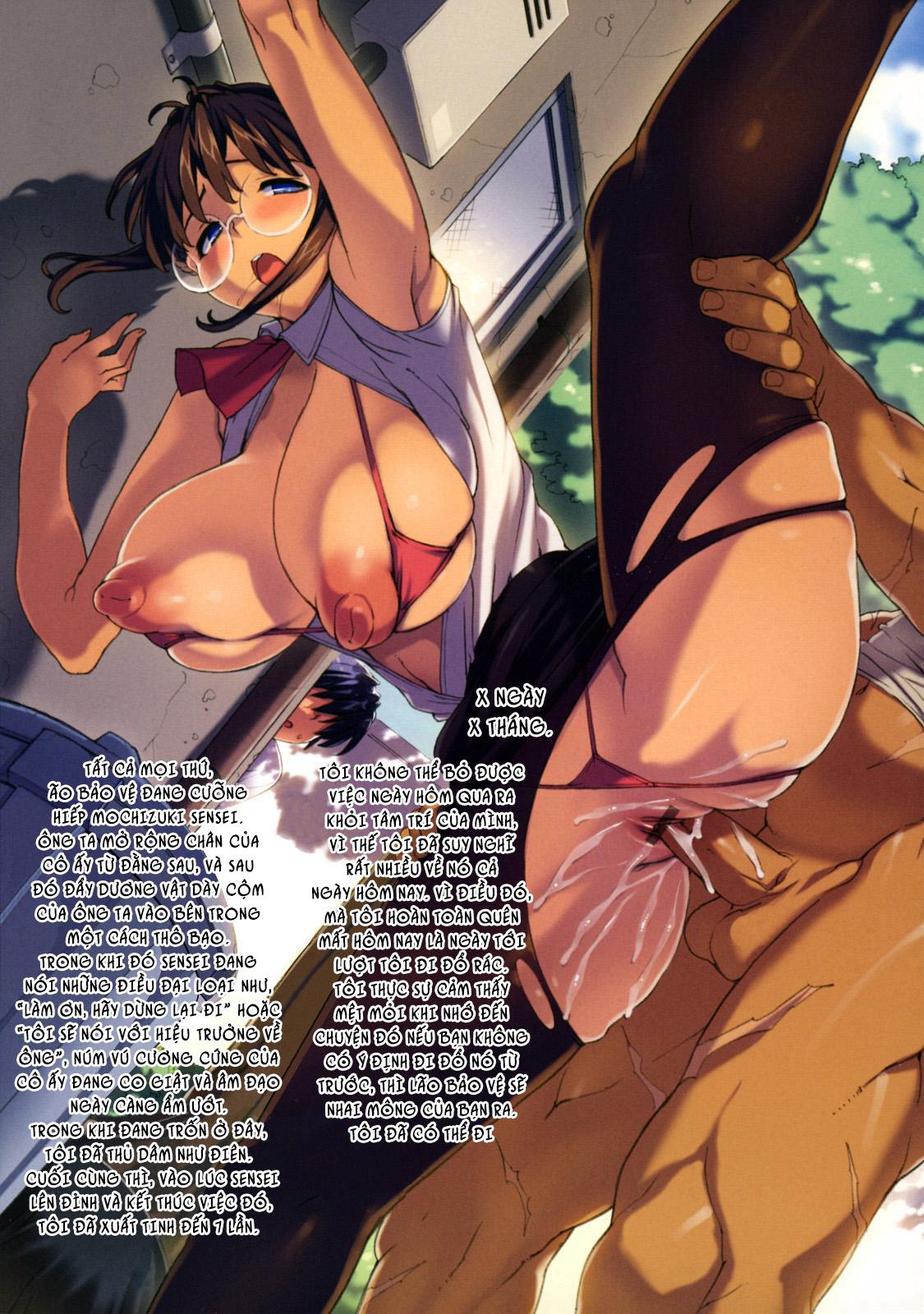 HentaiVN.net - Ảnh 11 - M Kyoushi Mochizuki Sensei no Himitsu - Teacher Mochizuki-Senseis Secret - Chap 0