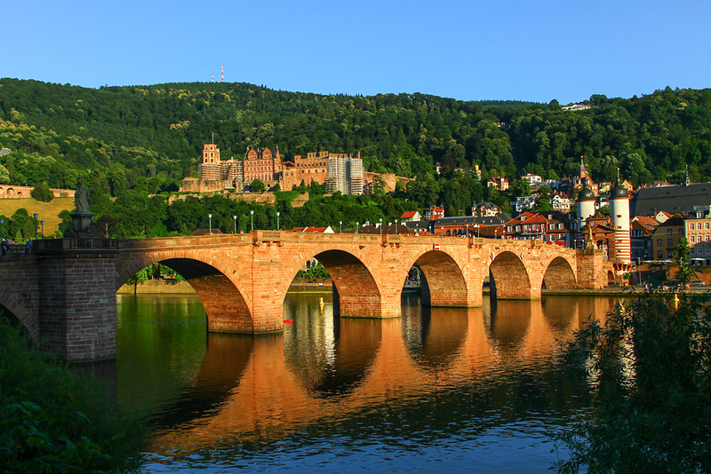 Heidelberg and bridge