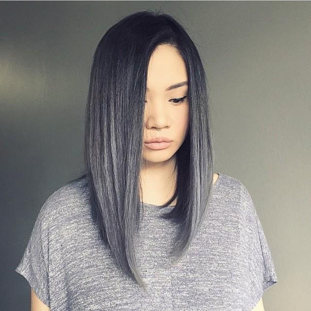 Straight Long A-line Bob Haircut 2018 - Fashionre