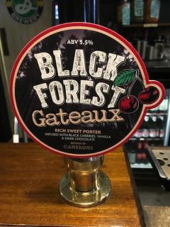 Camerons, Black Forest Gateaux, England