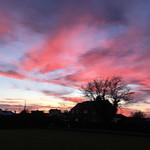 Cogenhoe Sunset