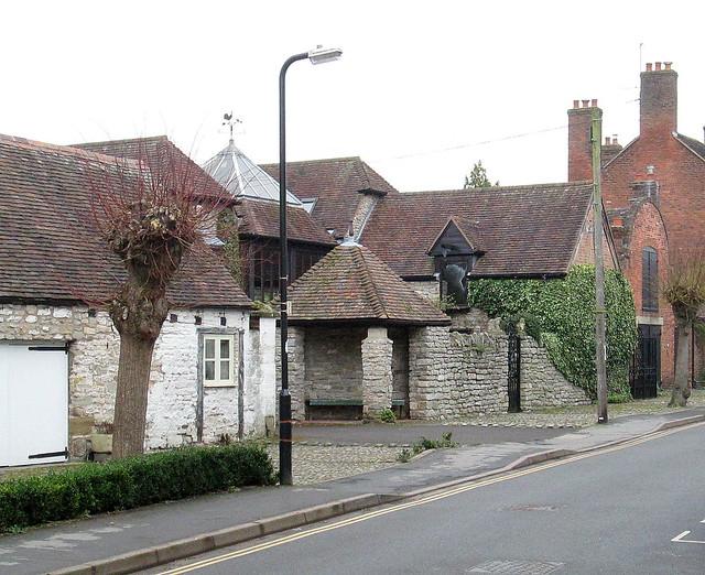 Buildings in Much Wenlock