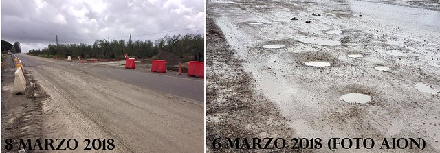 Carretera MOrón-Arahal 8-03-2018