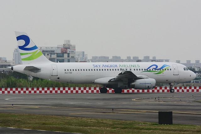 Sky Angkor Airlines XU-720 Airbus A320-232