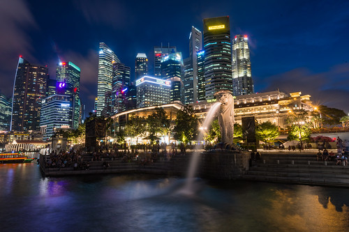 Merlion, Merlion Park, Singapore