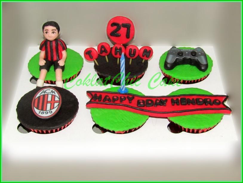 Cupcake Set AC Milan HENDRO