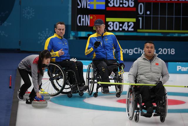 Paralympics 2018 Curling