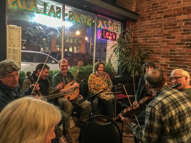 Irish Music at Village Pizza