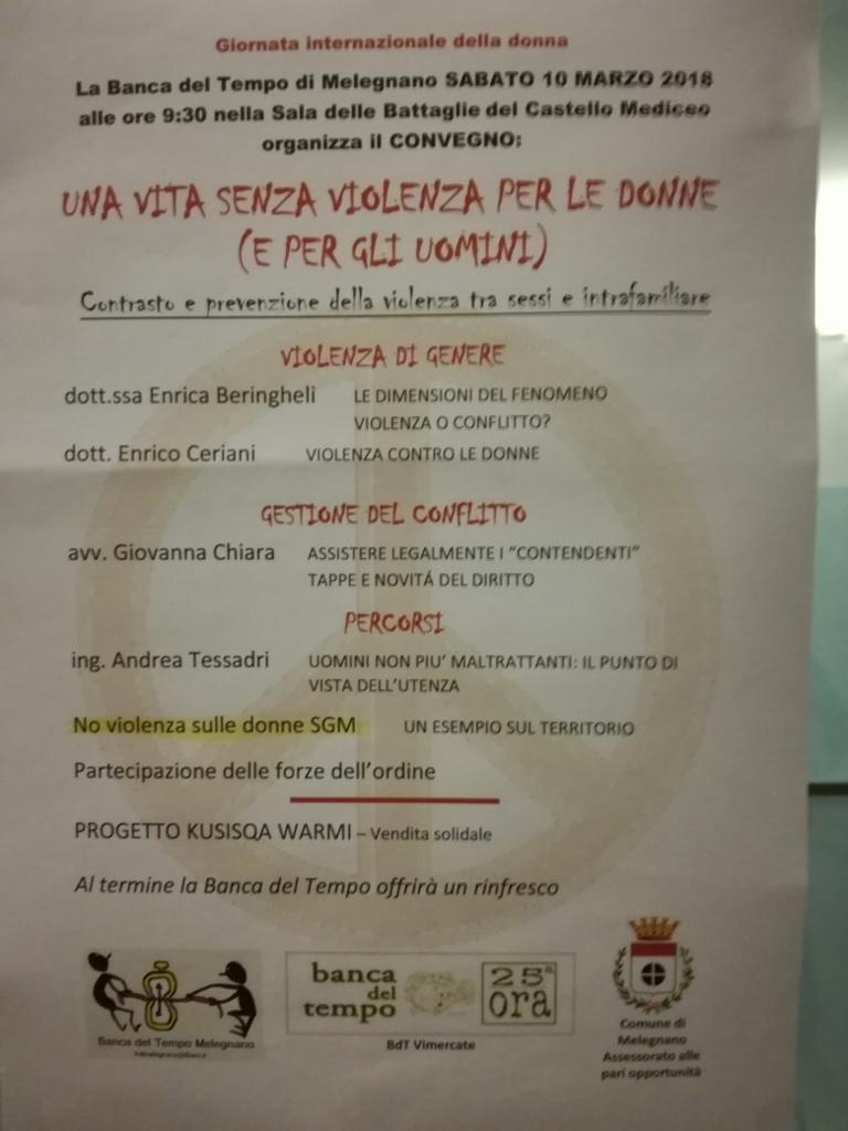 Giornata Internazionale della donna, ma si parla ancora di violenza.