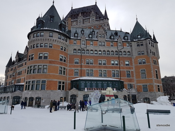 Château Frontenac in Quebec