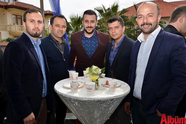 Cavit Güzel, Mehmet Güldalı, Sabir Uysal, Hilmi Kurt, Yaşar Kızıl