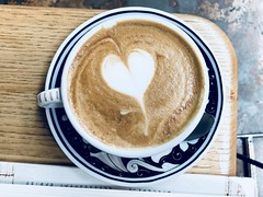 Heart you at La Colombe