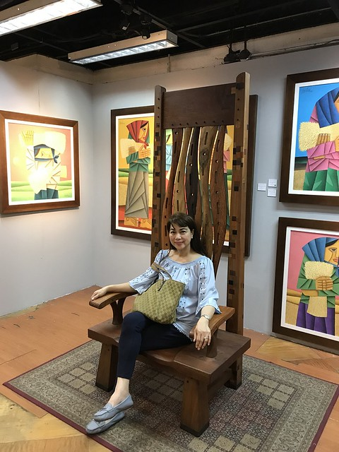 Wooden Chair by Agi Pagkatipunan