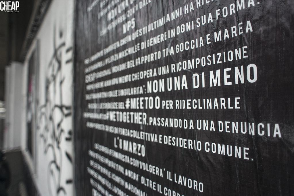 #WeToogether | CHEAP e Non Una Dimeno | installazione di MP5