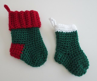 Mini Christmas Stockings for the Troops