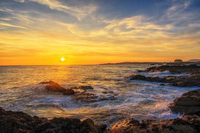 Sunset from Elie Beach