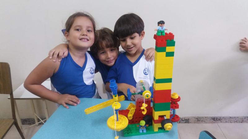 Aula Lego - 1º ano EFI