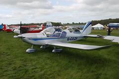 G-CEZF Evektor EV-97 [2007-3205] Popham 020509