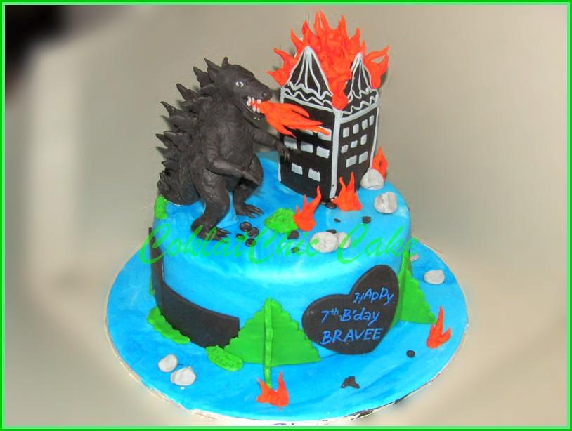 Cake Godzilla BRAVEE 18 cm