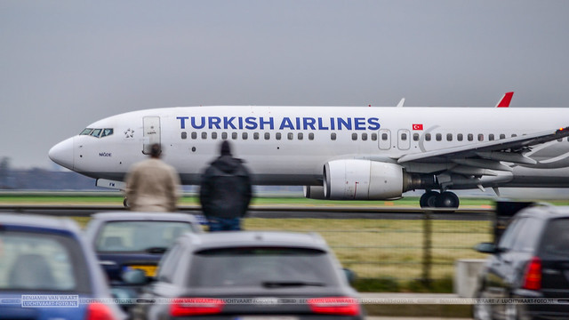 Turkish Airlines Boeing 737-800 TC-JFM