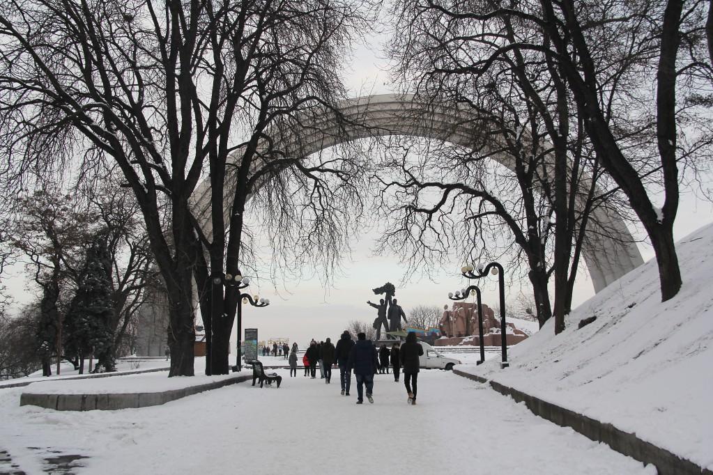 Киев, заключительная - вечная дружба России и Украины