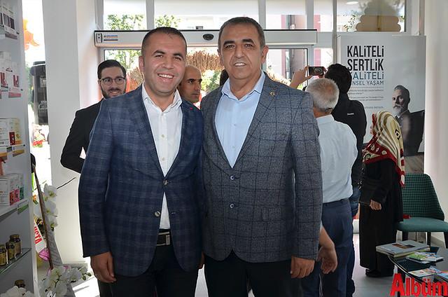 Alanya Belediye Başkan Yardımcısı Nazmi Yüksel, Alanya MHP Başkan Yardımcısı Mustafa Sünbül