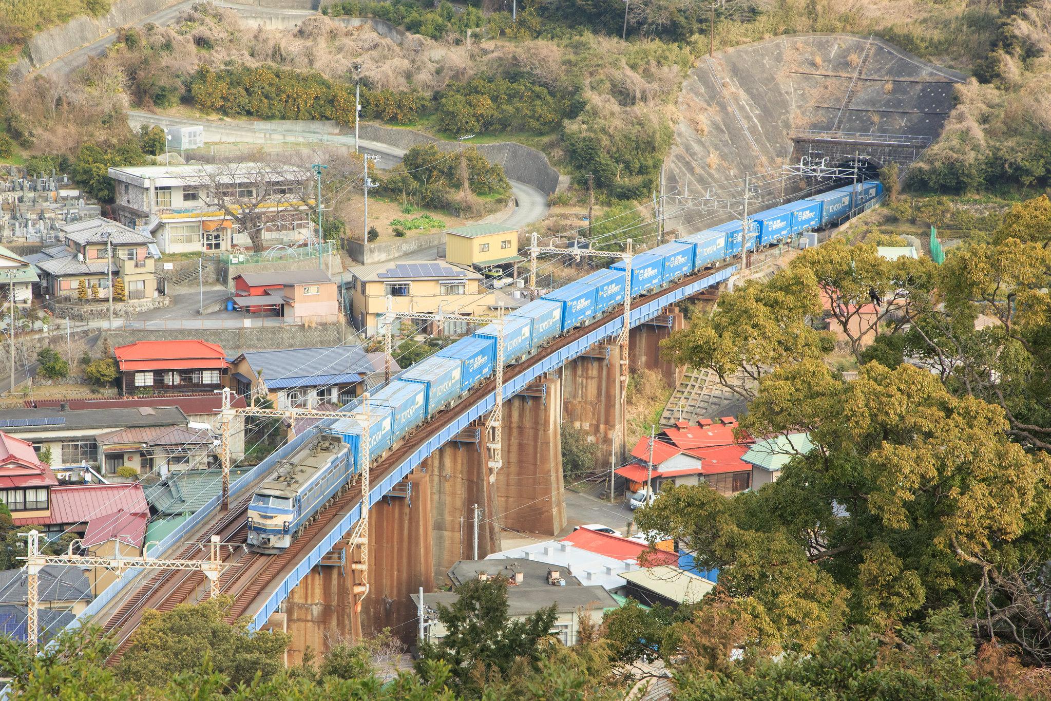 EF66 27 / Tokaido Line