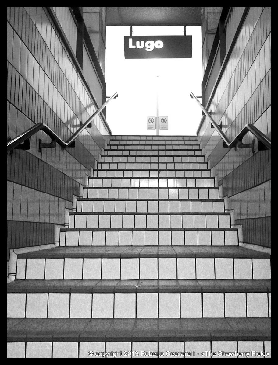 Sottopasso della stazione di Lugo