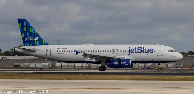 jetBlue Airways, N584JB, 2003 Airbus A320-232, MSN 2149,