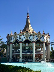 California's Great Adventure - Carousel Columbia (3987)