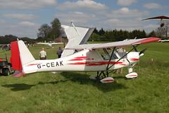 G-CEAK Ikarus Comco C-42 [0606-6826] Popham 020509