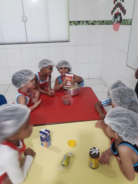 Receita de Brigadeiro - Educação Infantil