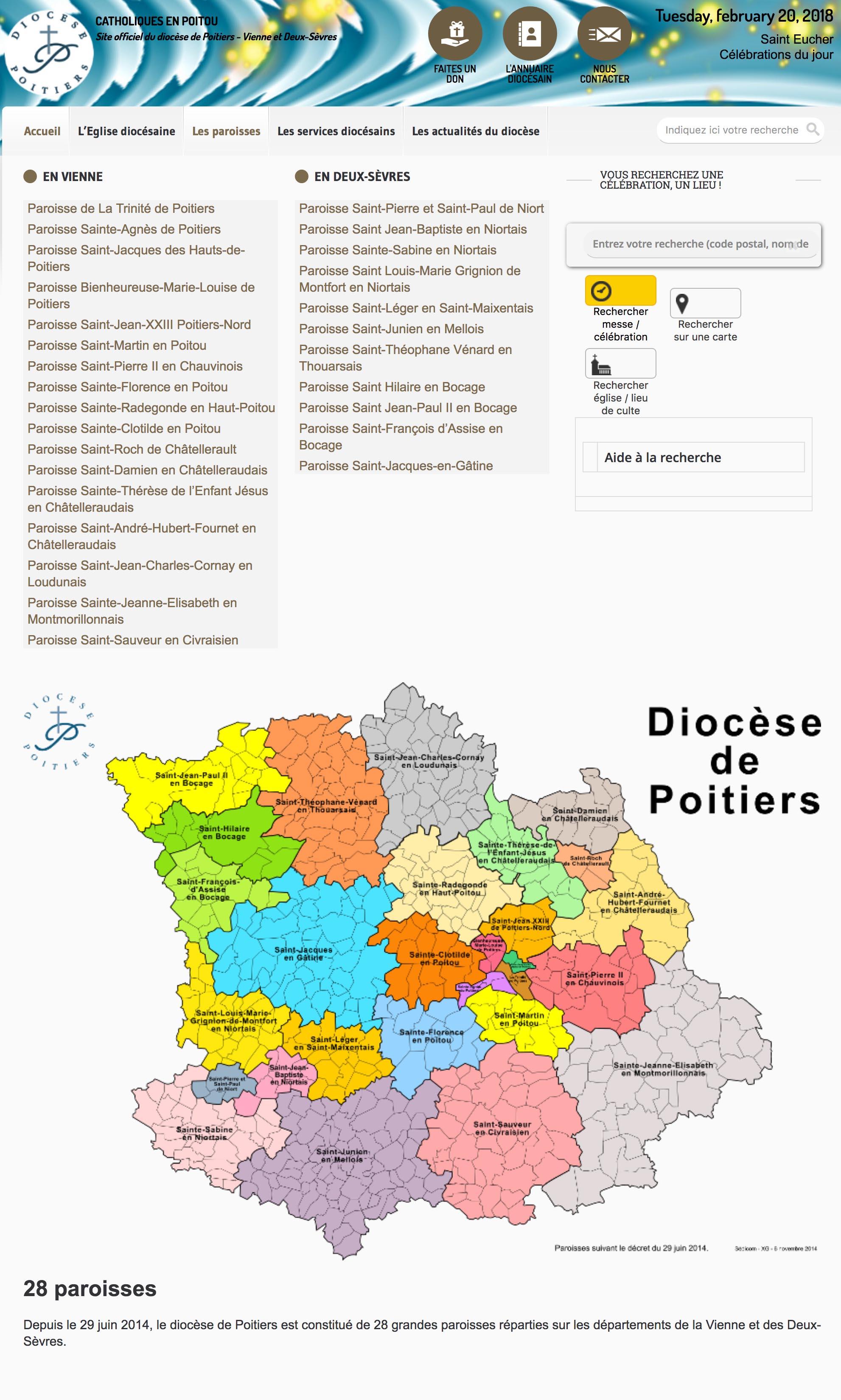 Diocèse de Poitiers