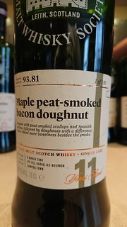 SMWS 93.81 - Maple peat-smoked bacon doughnut