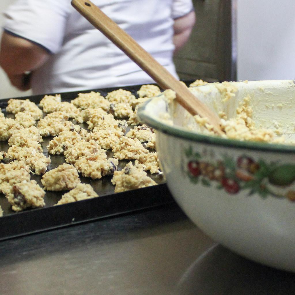 Horneando galletas para diabéticos