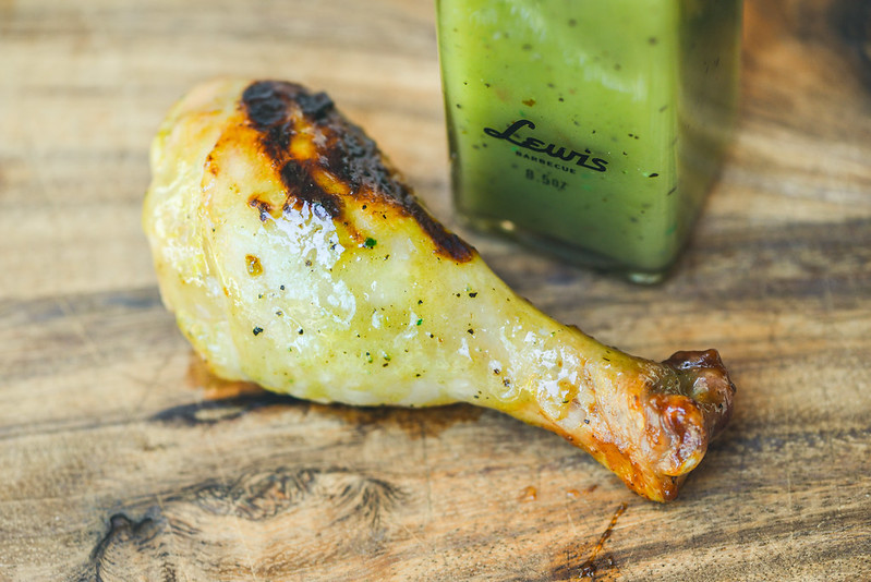 Lewis Barbecue Hatch Green Chili Barbecue Sauce