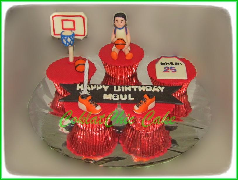 Cupcake Set Basket Ball MBUL