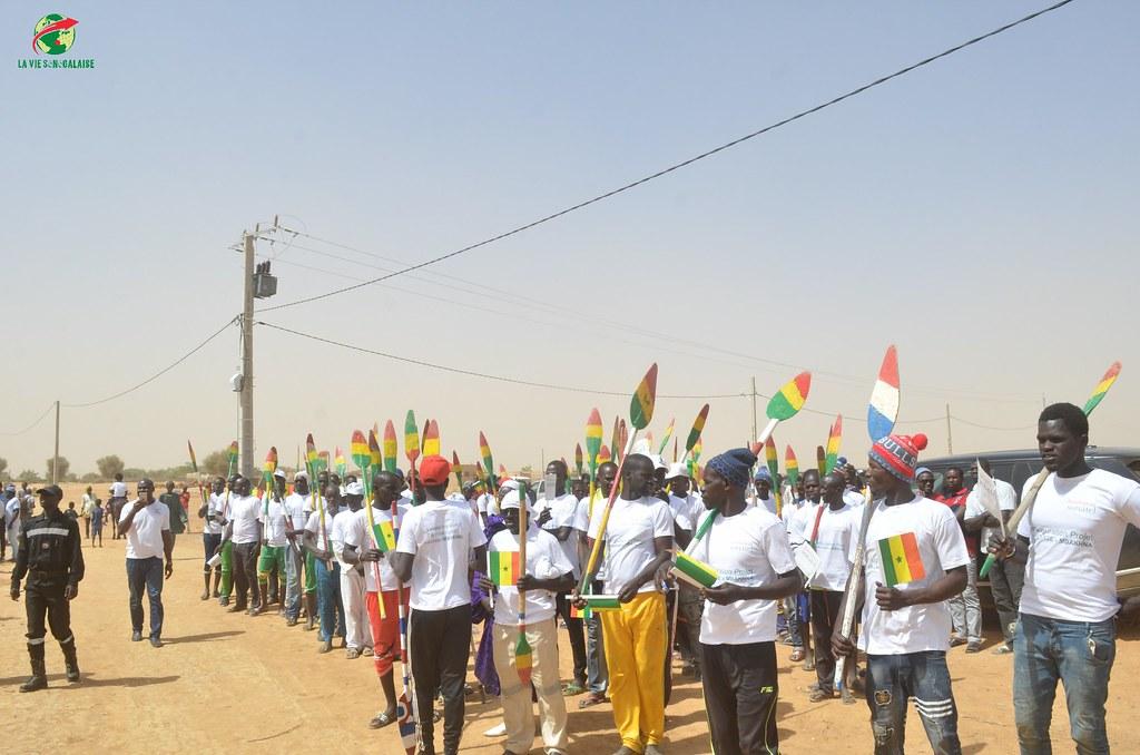 Inauguration d'infrastructures  de base à Mbakhna Par la Fondation SONATEL (27)