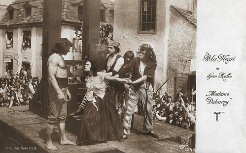 Pola Negri in Madame Dubarry (1919)