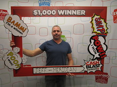 Jeffery Lucas - $1,000 - Cash Blast - Meridian - Jacksons